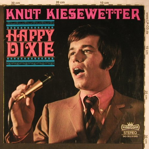 Kiesewetter,Knut: Happy Dixie, vg+/m-, Intercord(942-08 U), D, 1968 - LP - X4890 - 6,00 Euro