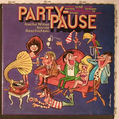 V.A.Party Pause-Freche Witze frivol: Tony...Die Travelers, vg+/m-, Fontana(62 063), D,  - 2LP - X5185 - 6,00 Euro