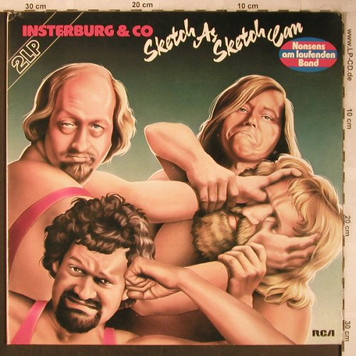 Insterburg & Co: Sketch As Sketch Can, Foc, RCA Extra(CL 28315), D, 1978 - 2LP - X5292 - 7,50 Euro