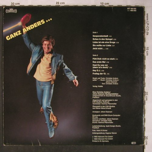 Anders,Christian: Ganz Nah,m-/VG-, Intercord(INT 160.193), D, 1983 - LP - X5444 - 5,00 Euro