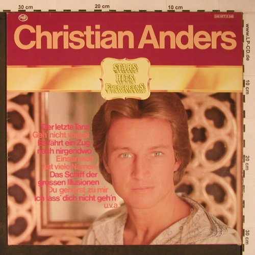 Anders,Christian: Stars Hits Evergreens, MFP(048 MPF 31 548), D,  - LP - X6207 - 6,00 Euro