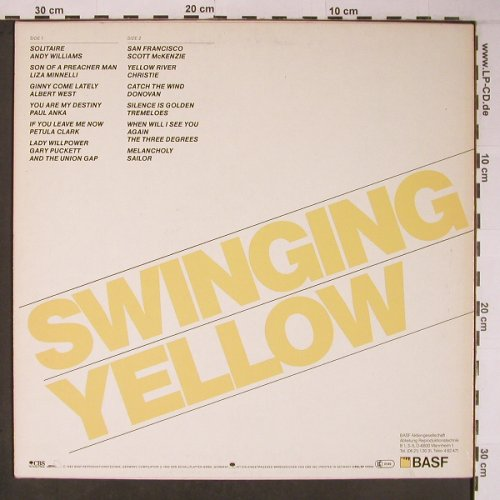 V.A.Swinging Yellow: Andy Williams...Sailor, BASF, CBS(LSP 15252), NL, m-/vg+, 1982 - LP - X6264 - 7,50 Euro