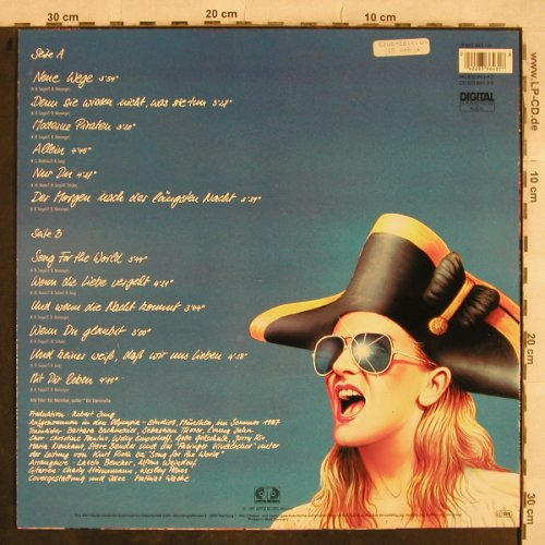 Nicole: Moderne Piraten, Club Ed., Jupiter(833 643-1), D, 1987 - LP - X703 - 5,00 Euro