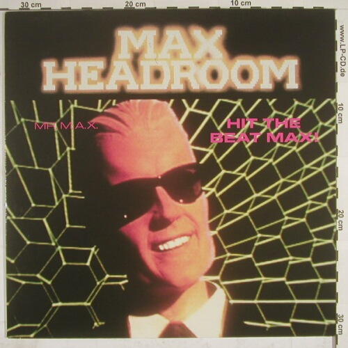 Mr.M.A.X.(Max Hhhhhhheadroom): Hit The Beat +2, Polydor(889 311-1), D, 89 - 12inch - A3217 - 4,00 Euro