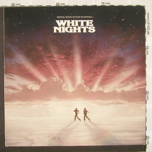 White Nights: Original Soundtrack, Atlantic(), D M-VG+, 85 - LP - A5119 - 2,50 Euro