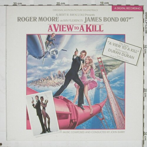 James Bond: A View to a Kill, Parloph.(), D, 85 - LP - A5230 - 7,50 Euro