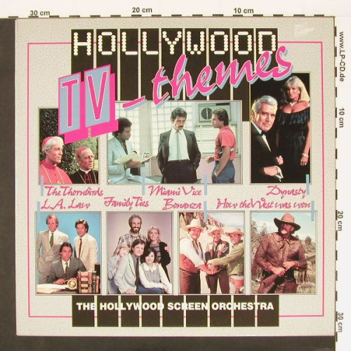 Hollywood Screen Orch.: Hollywood TV-Themes, Hollywood(18009), F,  - LP - A6435 - 4,00 Euro