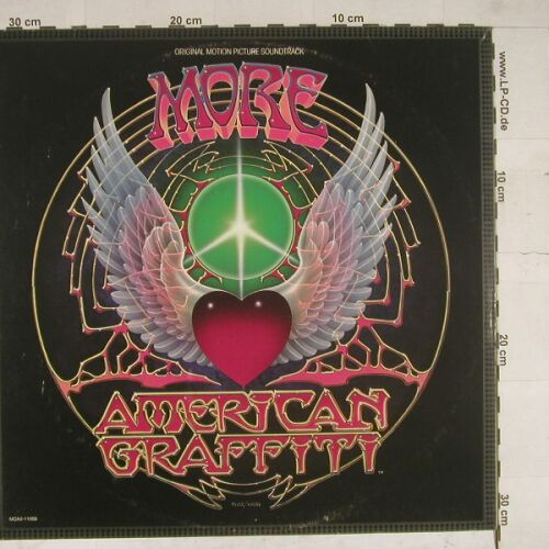 More American Graffitti: Original Soundtrack, Foc, co, MCA(MCA2-11006), US, 1979 - 2LP - A7622 - 9,00 Euro