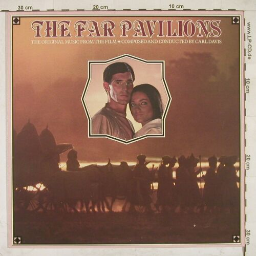 The Far Pavillions: Music From by Carl Davis, Chrys.(CDL 1464), UK, 84 - LP - A7657 - 6,00 Euro