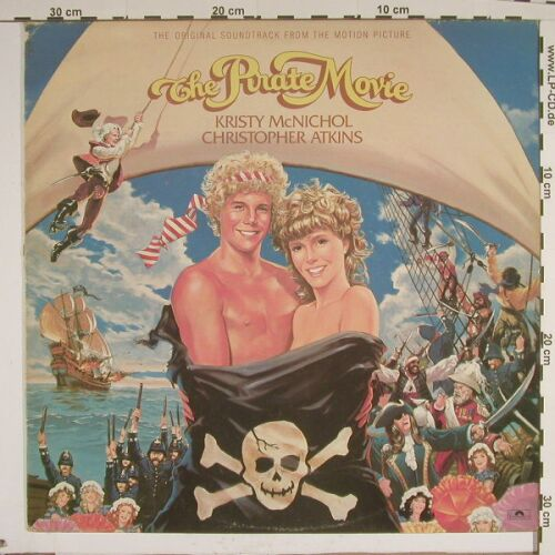 Pirate Movie: Original Soundtrack, Polydor(POLD 5074), UK, 82 - LP - A8903 - 5,00 Euro