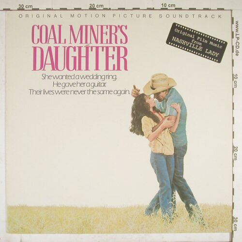 Coal Miner's Daughter: Orig.Soundtr., Ri, MCA(250 780-1), D, 80 - LP - A9886 - 4,00 Euro