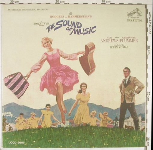 Sound of Musik: Soundtrack,Rodgers/Hammerstein, RCA red(LOCD-2005), US, 65 - LP - B2203 - 5,00 Euro