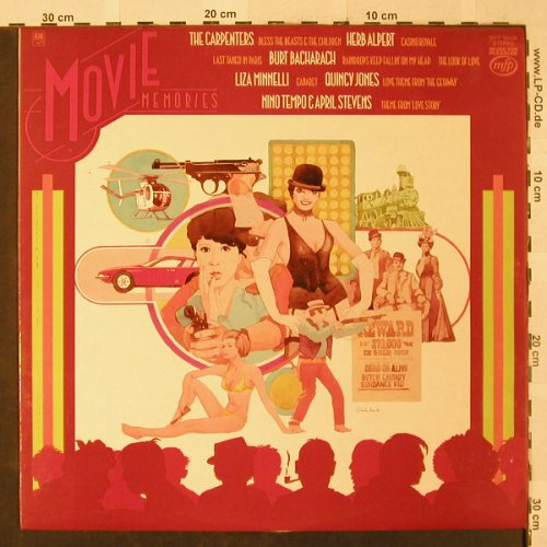 V.A.Movie Memories: Burt Bacharach,Carpenters..12 Tr., MFP(MFP 50438), UK,  - LP - B2722 - 4,00 Euro
