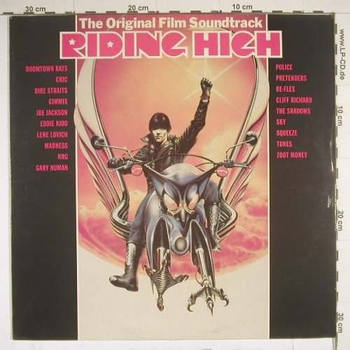 Riding High: Original Soundtrack, Jambo(JAM 2), UK, 79 - LP - B2819 - 7,50 Euro