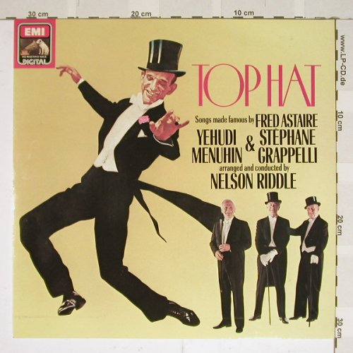 Top Hat: Menuhin/Grapelli/Riddle, EMI(097-43170), D, 81 - LP - B3795 - 7,50 Euro
