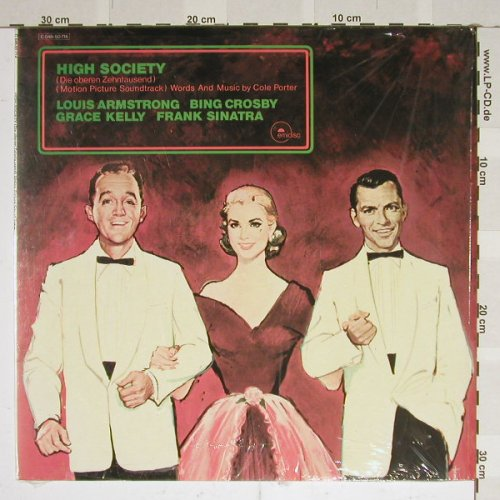 High Society/die Oberen Zehntausend: Armstrong, Sinatra, Crosby, Kelly, Capitol(C 048-50 714), EEC,  - LP - B3812 - 3,00 Euro
