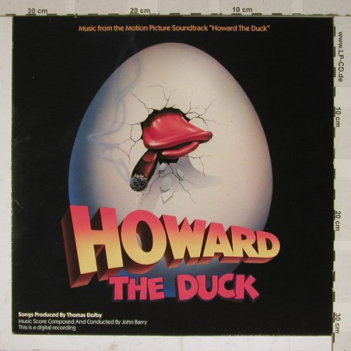 Howard The Duck: Music From,Thomas Dolby,John Barry, MCA(254 260-1), D, 86 - LP - B4674 - 5,50 Euro