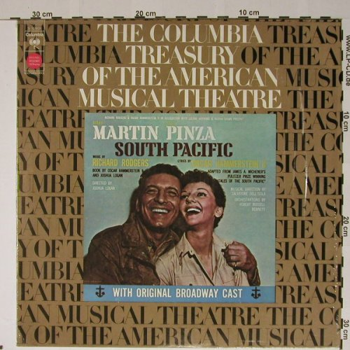 South Pacific -Orignal Broadw.Cast: Mary Martin - Ezio Pinza, Columbia(S 32604), US, Ri, 73 - LP - B5231 - 6,00 Euro