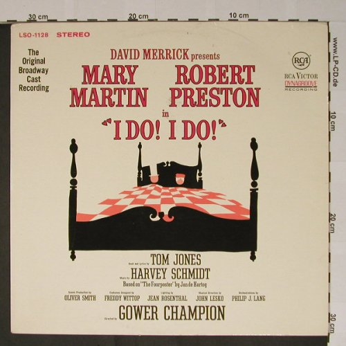 I Do! I Do!: Mary Martin & Robert Preston, RCA(LSO-1128), D, 66 - LP - B5232 - 9,00 Euro