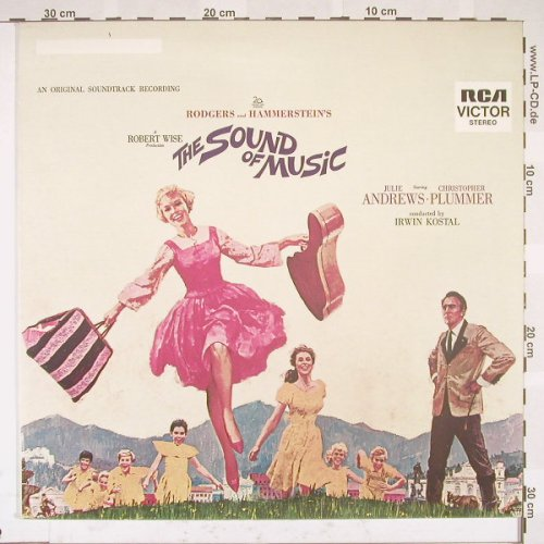 Sound of Musik: Soundtrack,Rodgers/Hammerstein, RCAorange(26.21153), D, Ri, 65 - LP - B5300 - 4,00 Euro