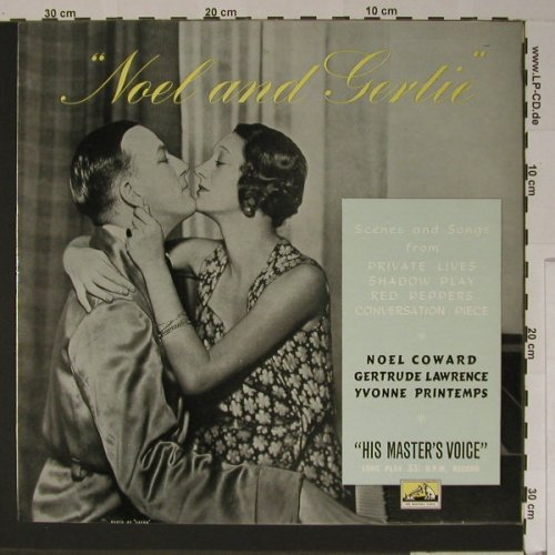 Lawrence,Gertrude and Noel Coward: Noel and Gertie, EMI(CLP 1050), UK,  - LP - B5705 - 9,00 Euro