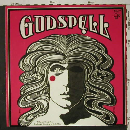 Godspell: A Musical Based Upon, Bell(1102), US,  - LP - B6316 - 7,50 Euro