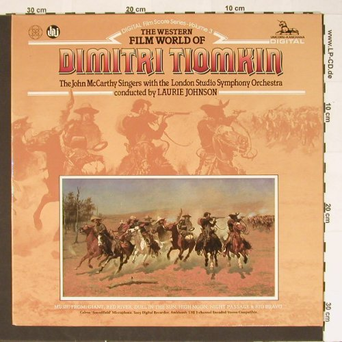 Tiomkin,Dimitri: The Western Film World of, Foc, Unicorn-K.(DKP 9002), NL, 81 - LP - B6664 - 6,00 Euro