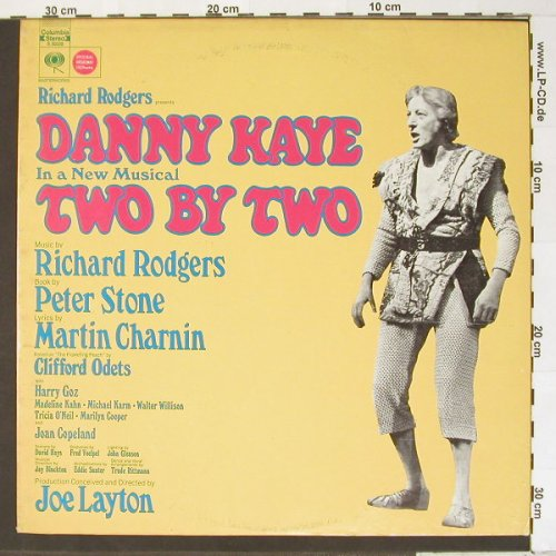 Two By Two: Original Cast Rec.,Danny Kaye, Columbia(S 30338), US,  - LP - B7331 - 6,50 Euro