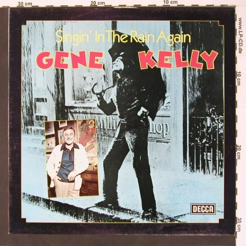 Kelly,Gene: Singin'In The Rain Again, m-/vg+, Decca(SLK 5265), UK, 77 - LP - B7387 - 4,00 Euro