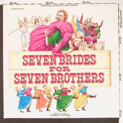 Seven Brides For Seven Brothers: Original London Cast,Foc, 1st Night(CAST 2), UK, 86 - LP - B8090 - 5,00 Euro
