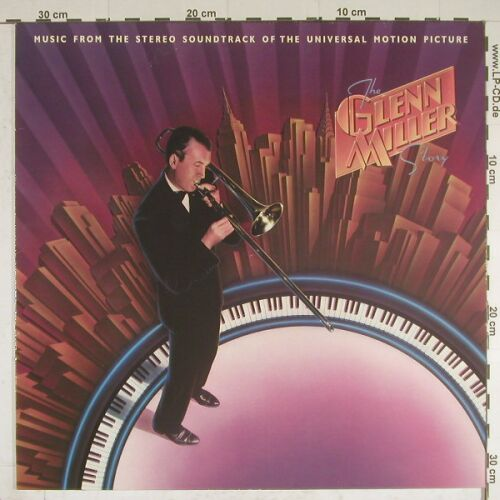 Miller,Glenn: The Glen Miller Story, Soundtrack, MCA(252 181-1), D, 1985 - LP - B82 - 5,00 Euro