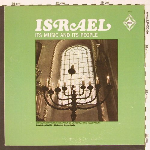 Israel - Its Music and its People: told by Christobel Weerasinghe, Desto(D-503), US,  - LP - B8436 - 9,00 Euro