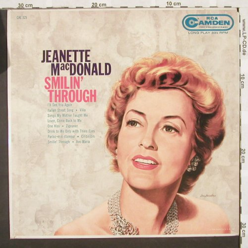 MacDonald,Jeanette: Smilin' Through, Camden(CAL 325), US,  - LP - B9774 - 7,50 Euro