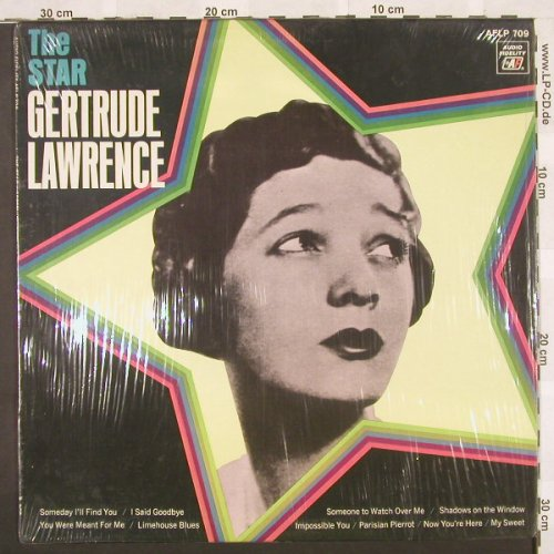 Lawrence,Gertrude: The Star, AudioFidel(AFLP 709), US, 68 - LP - B9864 - 9,00 Euro