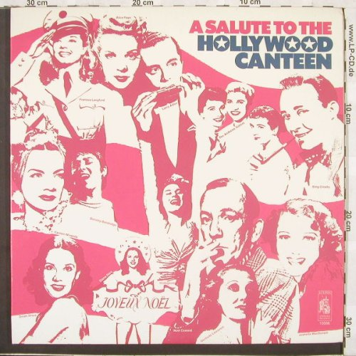 V.A.Salute to the Hollywood Canteen: Crosby, Shore, Waller,Kitt u.a.,Foc, Stanyan(10066), US, 73 - 2LP - C1658 - 7,50 Euro