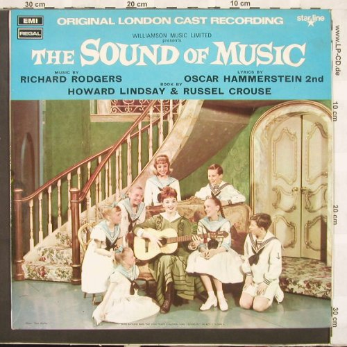 Sound of Musik: Soundtrack,Rodgers/Hammerstein, EMI Starline(SRS 5003), UK, Ri, 61 - LP - C1666 - 7,50 Euro