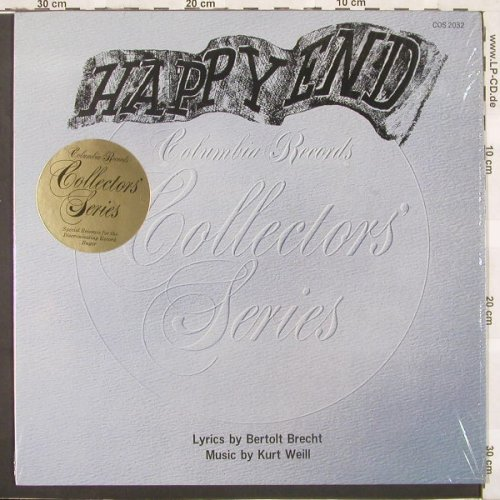Happy End (Weill/Brecht): with Lotte Lenya,Brückner-Rüggeberg, CSP(COS 2032), US, 73 - LP - C1668 - 7,50 Euro