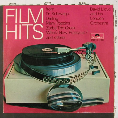 Lloyd,David and his Orchestra: Film Hits, Polydor(184 066), D,  - LP - C2406 - 5,00 Euro
