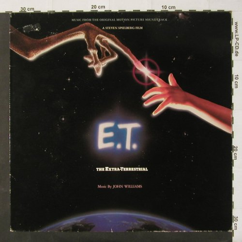 E.T.: Music by John Williams, m-/vg+, MCA(204 889), D, 82 - LP - C2490 - 3,00 Euro