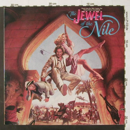 Jewel Of The Nile: Music From, Co, Jive(JL9-8406), US, 1985 - LP - C2492 - 5,00 Euro