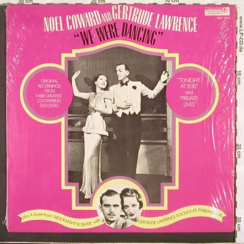 Coward,Noel/Lawrence,Gertrude: We Were Dancing, Monmouth Evergreens(MES/7042), US,  - LP - C2763 - 7,50 Euro