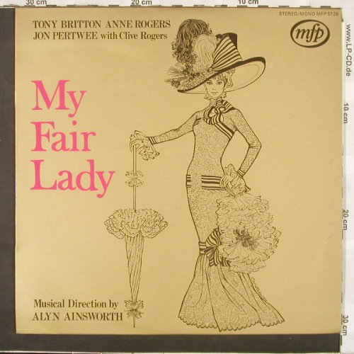 My Fair Lady: Tony Britton,Anne Rogers,J.Pertwee, MFP(5128), D / NL,  - LP - C3204 - 6,00 Euro