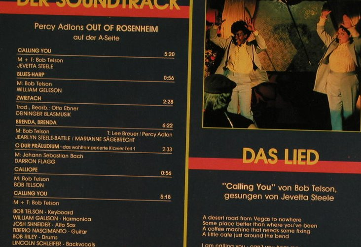 Out Of Rosenheim: Filmmusik by V.A. / Die Show, Papagayo(1 59560 1), NL, 1988 - LP - C3374 - 4,00 Euro