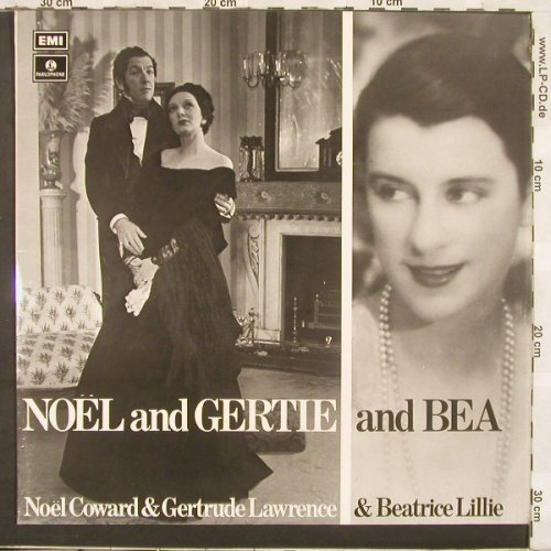 Coward,N./Lawrence,G./Lillie,B.: Noel and Gertie and Bea, Parloph.(PMC 7135), UK, 71 - LP - C3387 - 9,00 Euro