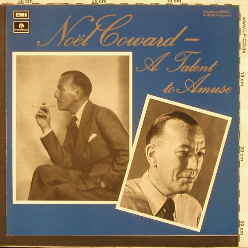 Coward,Noel: A talent To Amuse, Parloph.(PMC 7158), UK, 73 - LP - C3388 - 9,00 Euro