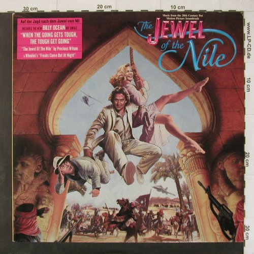 Jewel Of The Nile: Music From, Jive(6.26296 AP), D, 1985 - LP - C4448 - 4,00 Euro