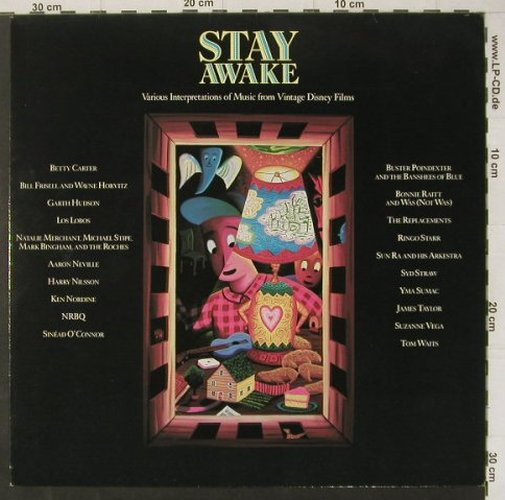 V.A.Stay Awake: Various Interpretations fr Vintage., AM(393 918-1), D, 10 Tr., 1988 - LP - C4522 - 5,50 Euro