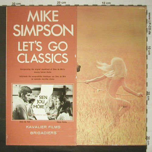 Simpson,Mike: Let's go Classics, Foc, Brigadiers(BRS 266), UK, 1970 - LP - C5991 - 7,50 Euro