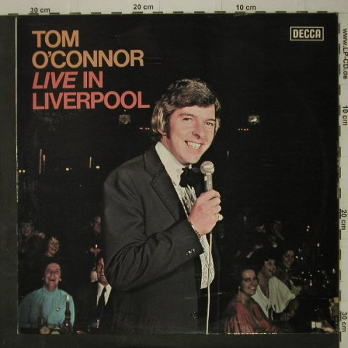 O'Connor,Tom: Live In Liverpool, Decca(SKL 5203), UK, 1975 - LP - C7589 - 5,00 Euro