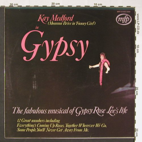 Gypsy - Kay Medford in: Alyn Ainsworth and his Orchestra, MFP(50090), UK, 1969 - LP - C8875 - 5,00 Euro